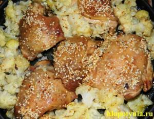 куриное мясо с цветной капустой