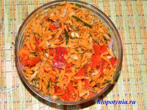 приправа морковная
