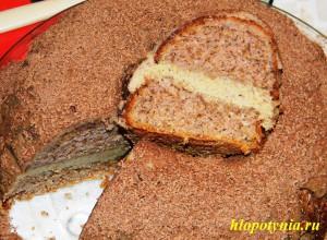 торт чешское чудо