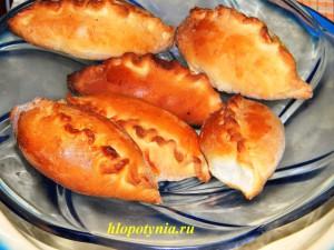 пирожки постные с рыбой