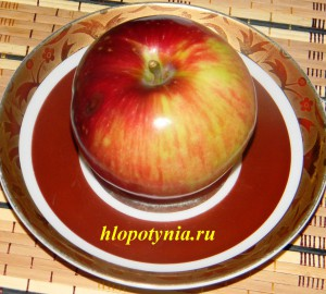 яблоко - бесценный дар природы