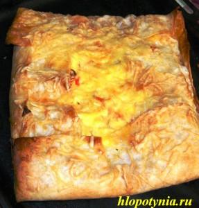 закрытая пицца