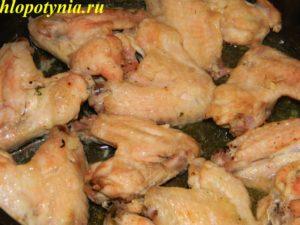 крылышки в духовке