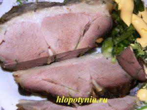 Запеченное мясное на второе