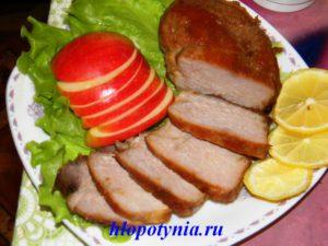 мясной набор блюд
