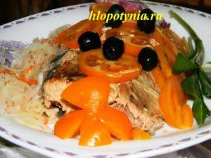 Рыба по-наумовски